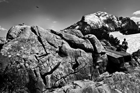 Bild: Auf dem Gipfel des Kehlstein - Eagle's Nest. NIKON D700 mit CARL ZEISS Distagon T* 3,5/18 ZF.2 ¦¦ ISO200 ¦ f/16 ¦ 1/640 s ¦ FX 18 mm.