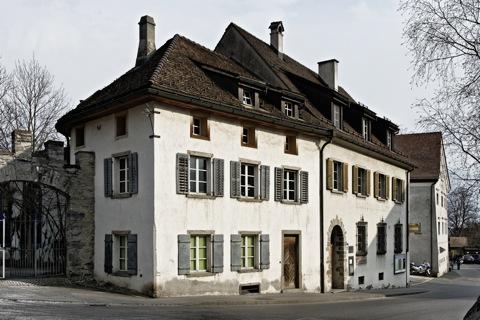 Bild: Impressionen aus Maienfeld im Kanton Graubünden in der Schweiz.