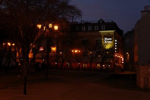 Bild: Das Hotel MONTE KRISTO in der Altstadt von Riga.