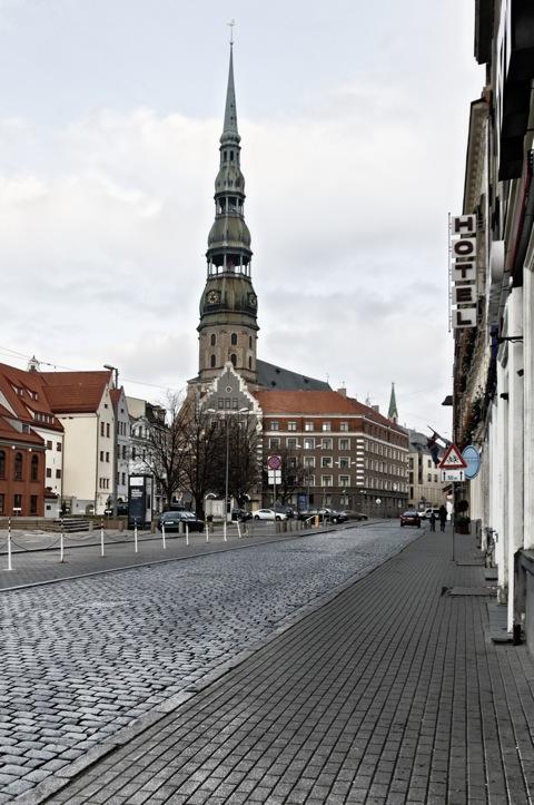 Bild: Der Dom zu Riga.