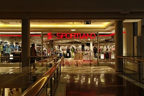 Bild: In der Shopping Mall Galeria Centrs in der Altstadt von Riga.
