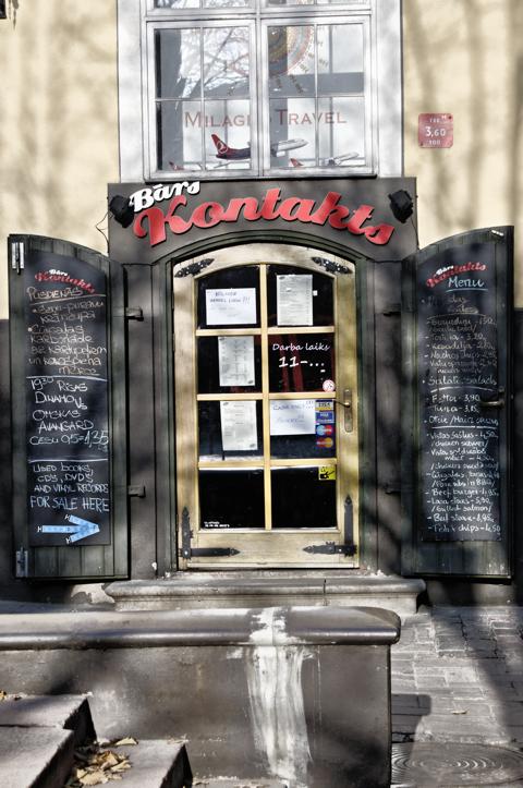 Bild: Restaurant an den Jakobskasernen in der Torņa iela in Riga.