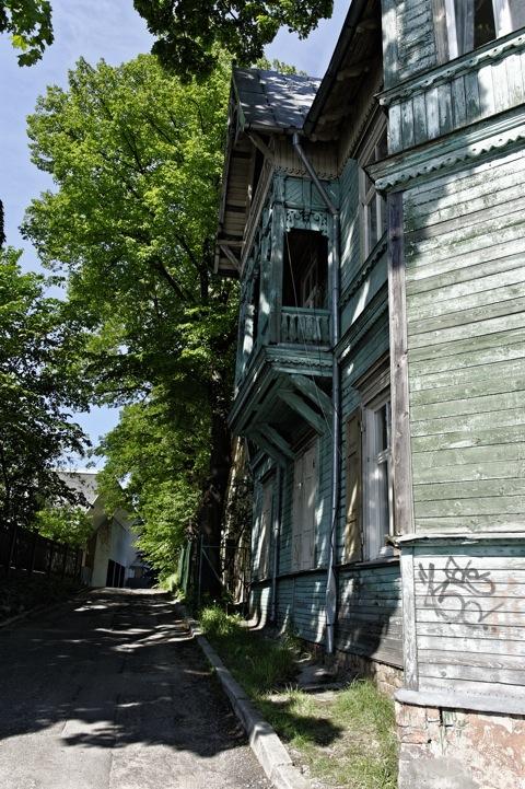Bild: Unterwegs in Ķīpsala.