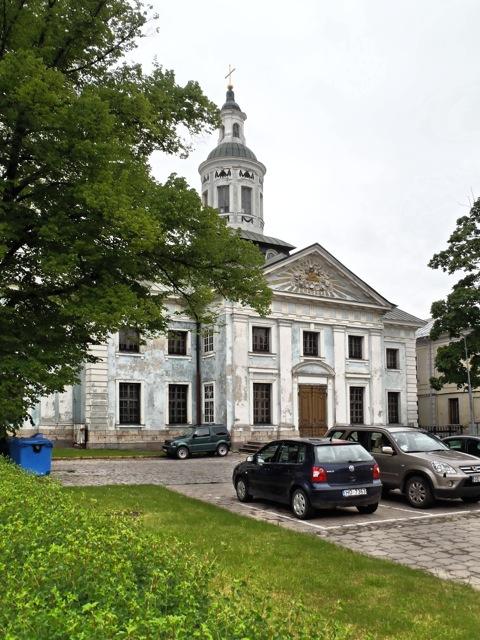 Bild: Ungenutzte Kirche in der nördlichen Altstadt von Riga. OLYMPUS µTough-6020.