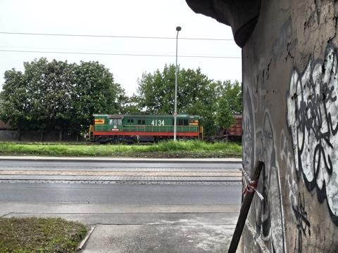 Bild: Güterzug am Hafen von Rīga. OLYMPUS µTough-6020.