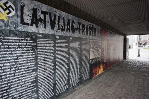 Bild: Unterwegs im Lettischen Okkupationsmuseum in Rīga. NIKON D700 mit CARL ZEISS Distagon T* 2,8/25 ZF.