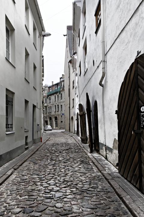 Bild: Im Speicherviertel in der Altstadt von Riga.
