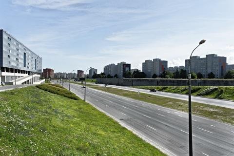 Bild: Unterwegs im Stadtteil Lasnamäe in Tallinn mit NIKON D700 und AF-S NIKKOR 28-300 mm 1:3,5-5,6G ED VR.