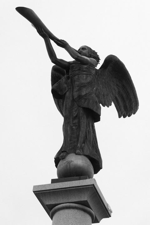 Bild: Der Engel von Užupis.