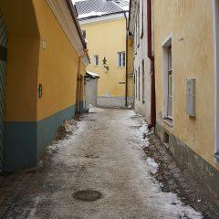 Bild: In den Gassen der Oberstadt von Tallinn.