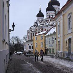 Bild: Blick auf die Alexander-Newski-Kathedrale in der Oberstadt von Tallinn.