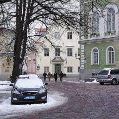 Bild: Auf dem Domberg von Tallinn.