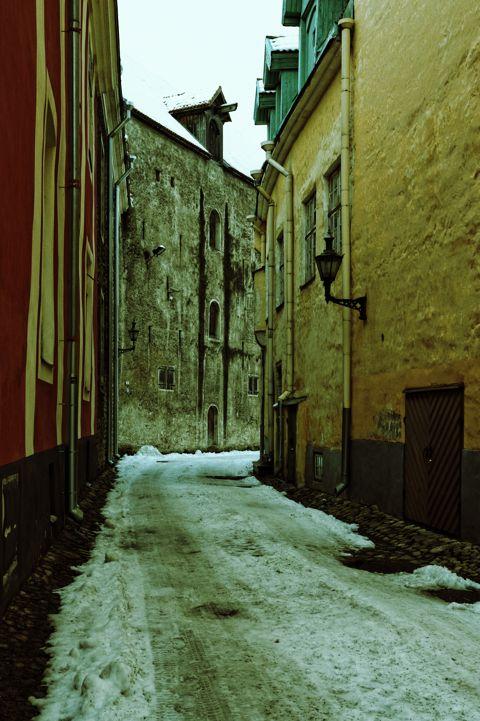 Bild: In der Laboratooriumi in der Altstadt von Tallinn geht es im Winter ruhig zu.