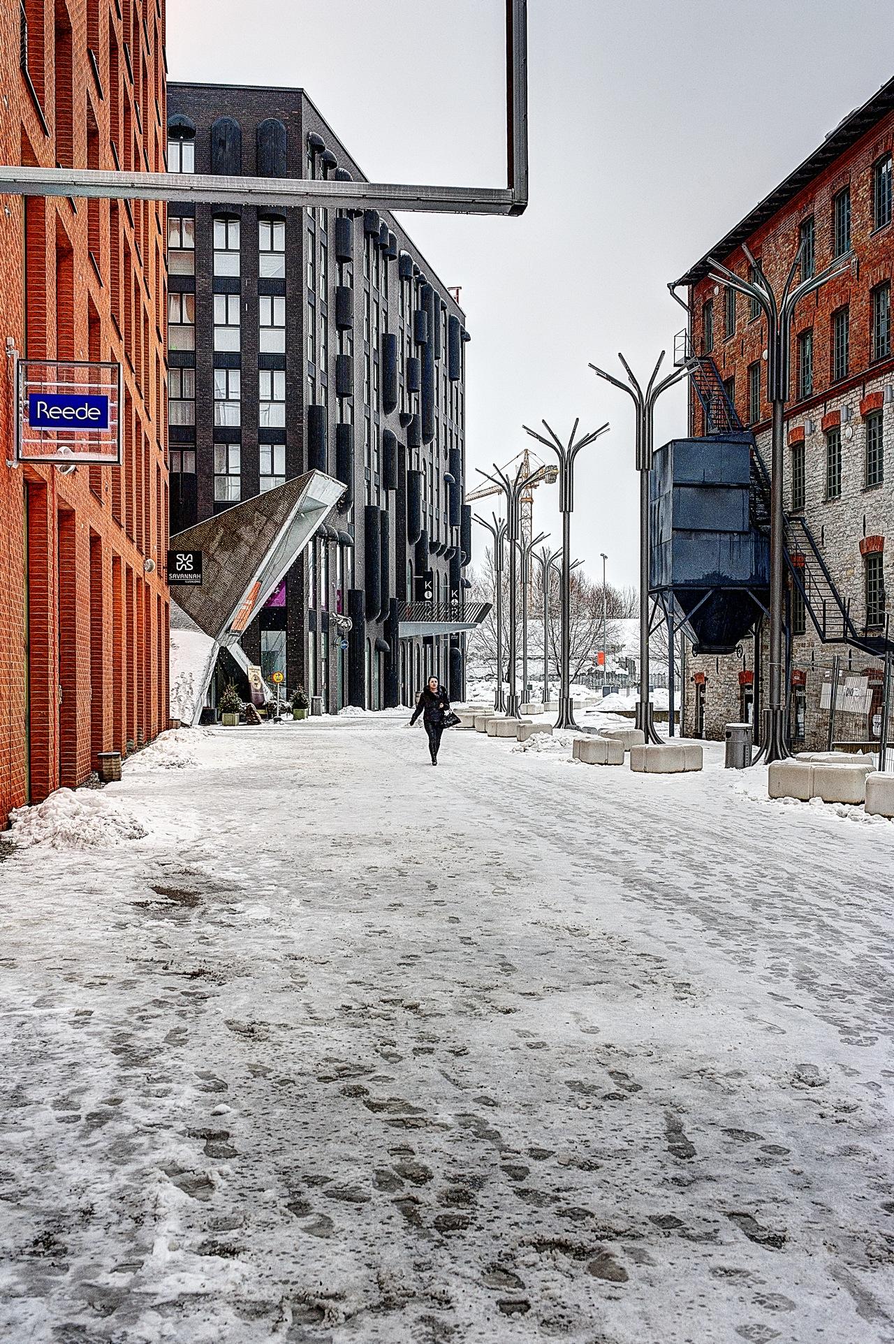 Bild: Unterwegs im Rotermanni Kvartal - dem Rotermann Viertel - in Tallinn mit NIKON D700 und CARL ZEISS Distagon T* 1.4/35 ZF.2.