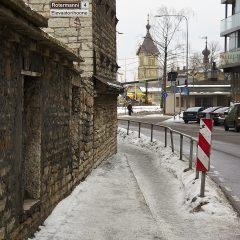 Zum Teil ist im Rotermanni Kvartal in Tallinn noch etwas von der Düsternis vergangener Zeiten zu spüren. Klicken Sie auf das Bild um es zu vergrößern.