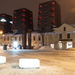 Bild: Spät Abends unterwegs im Rotermanni Kvartal - dem Rotermann Quartier - in Tallinn. NIKON D300s mit CARL ZEISS Distagon T* 3.5/18 ZF.2.