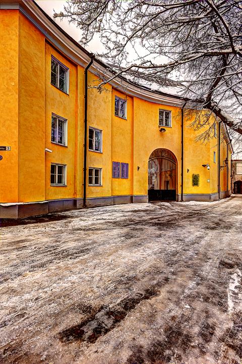 Bild: Und hier das Stenbock-Haus aus einer anderen Perspektive.