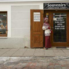 Bild: Souvenirladen in der Uus - einer Parallelstraße zur Müürivahe - östlich der Stadtmauer.