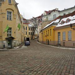 Bild: In der Olevimägi in Tallinn.