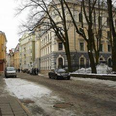 Bild: Das in Estland wohl meist gehasste Gebäude befindet sich an der Ecke Pikk / Pagari. Hier hatte der KGB sein Hauptquartier in Tallinn.