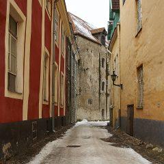 Bild: In der Suurturki in Tallinn.