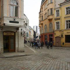 Bild: Die Vana Viru in Tallinn ist ein Toristenmagnet.