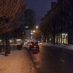 Bild: Unterwegs am frühen Morgen im Viertel Sibulaküla in Tallinn.