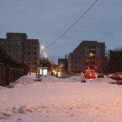 Bild: Zu Tallinn gehören auch die Plattenbauten aus sowjetischer Zeit wie in Keldrimäe.