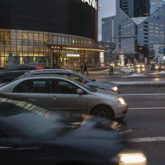 Bild: Um 07:00 Uhr an der Stockmann-Kreuzung.