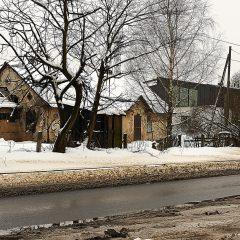 Bild: Auch im Tallinner Stadtteil Kalamaja ist der Verfall allenthalben präsent.