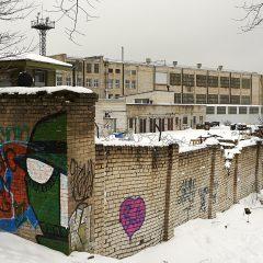 Bild: Industriegebäude an der Ostsee im Tallinner Viertel Kalamaja.