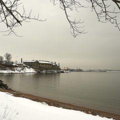 Bild: Das Patarei Gefängnis im Tallinner Stadteil Kalamaja.