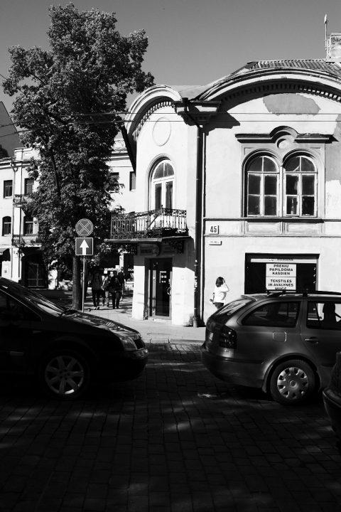 Bild: In der Pylimo gatvė in der Neustadt von Vilnius. NIKON D700 mit CARL ZEISS Distagon T* 1.4/35 ZF.2.