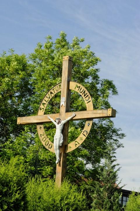 Bild: Kruzifix an der Kirche von Užupis - Užupio gatvė. NIKON D700 und AF-S NIKKOR 24-120 mm 1:4G ED VR.