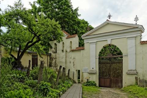 Bild: In Užupis liegt auch der historische Friedhof Bernardinų kapinės - auch Berhardinen Friedhof. NIKON D700 und AF-S NIKKOR 24-120 mm 1:4G ED VR.
