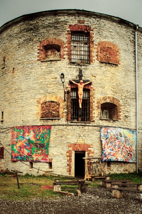 Bild: Im ehemaligen Patarei Gefängnis in Tallinn. NIKON D700 mit AF-S NIKKOR 24-120 mm 1:4G ED VR.