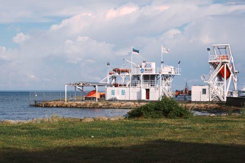 Bild: An der Seerettungsstaion von Pirita. NIKON D700 und AF-S NIKKOR 24-120 mm 1:4G ED VR.