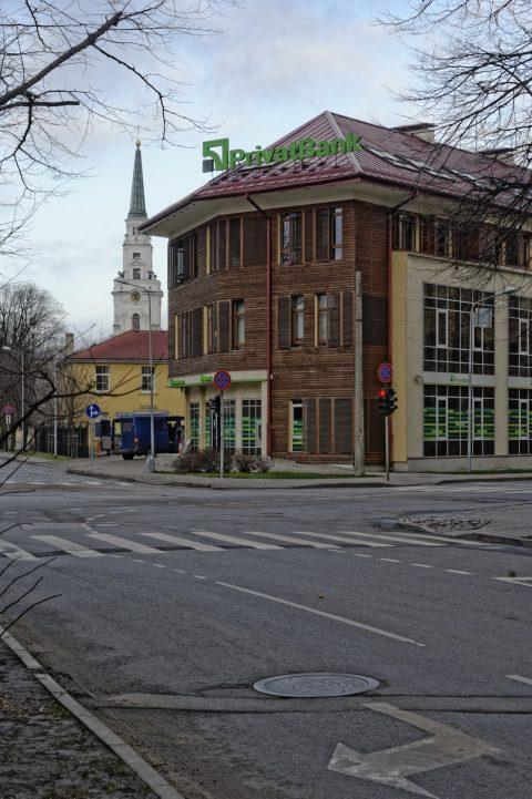 Bild: Die ehemalige Kirche und jetzige Konzerthalle Ave Sol in der Citaledeles iela in Riga. NIKON D700 mit AF-S NIKKOR 24-120 mm 1:4G ED VR. ISO 400 ¦ f/9 ¦ 60 mm ¦ 1/250 s ¦ kein Blitz. Klicken Sie auf das Bild um es zu vergrößern.