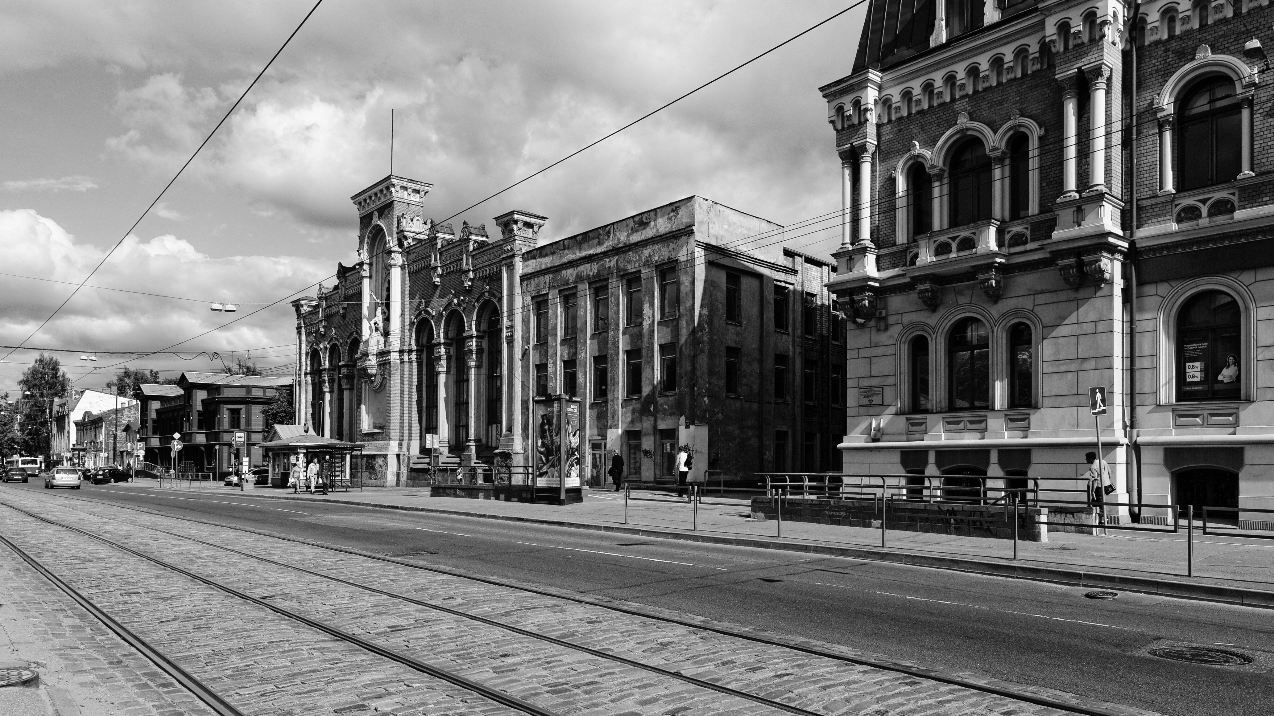 Bild: Insidern ist VEF in Riga als Hersteller der legendären MINOX Kameras des in Riga geborenen Konstrukteurs und Unternehmers Walter Zapp bekannt. NIKON D700 mit TAMRON SP 24-70mm F/2.8 Di VC USD. ISO 200 ¦ f/7,1 ¦ 24 mm ¦ 1/2000 s ¦ kein Blitz. Klicken Sie auf das Bild um es zu vergrößern.