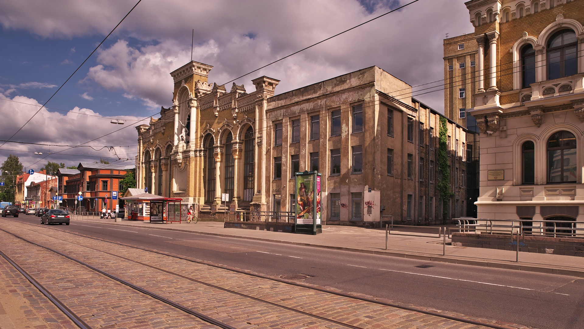 Bild: VEF hat die wirtschaftliche Wende nach der Unabhängigkeit Lettlands bis auf drei kleine Tochterunternehmen nicht überlebt. NIKON D700 mit TAMRON SP 24-70mm F/2.8 Di VC USD. ISO 200 ¦ f/7,1 ¦ 24 mm ¦ 1/1/320 s ¦ kein Blitz. Klicken Sie auf das Bild um es zu vergrößern.