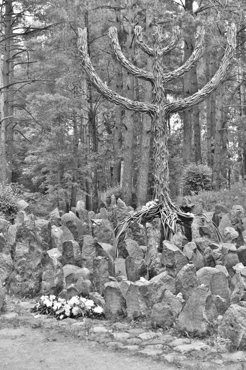 Bild: In der Holocaust Gedenkstätte Rumbula im Südosten von Rīga. NIKON D700 mit TAMRON SP 24-70mm F/2.8 Di VC USD. ISO 200 ¦ f/5,6 ¦ 70 mm ¦ 1/160 s ¦ kein Blitz. Klicken Sie auf das Bild um es zu vergrößern.