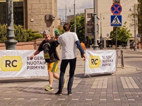 "Bild: Impressionen vom Vilnius Halbmarathon 2015 ""DNB | NIKE WE RUN VILNIUS"". OLYMPUS OM-D E-M1 mit M.ZUIKO DIGITAL ED 40‑150mm 1:2.8 PRO."