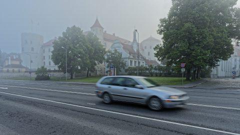 Bild: Das Schloss von Riga war der Sitz des Gouverneurs von Schwedisch-Livland.