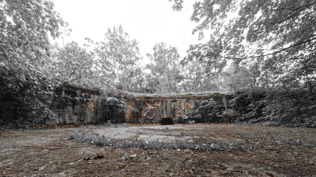 Bild: Die am nächsten zum Fluss Daugava gelegene Artilleriefestung im Stadtteil Mangaļsala von Rīga.