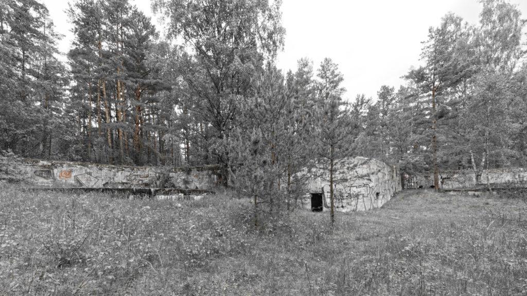 Bild: Die Artilleriefestungen im Stadtteil Mangaļsala von Rīga wurden kurz vor dem Ersten Weltkrieg erbaut.