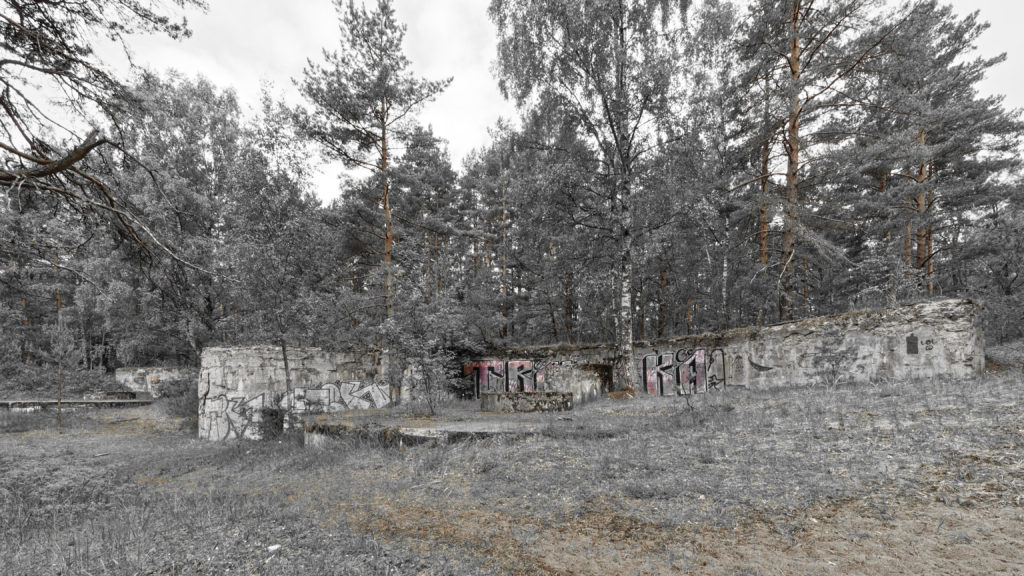 Bild: Die Artilleriefestungen im Stadtteil Mangaļsala von Rīga wurden nie militärisch genutzt.