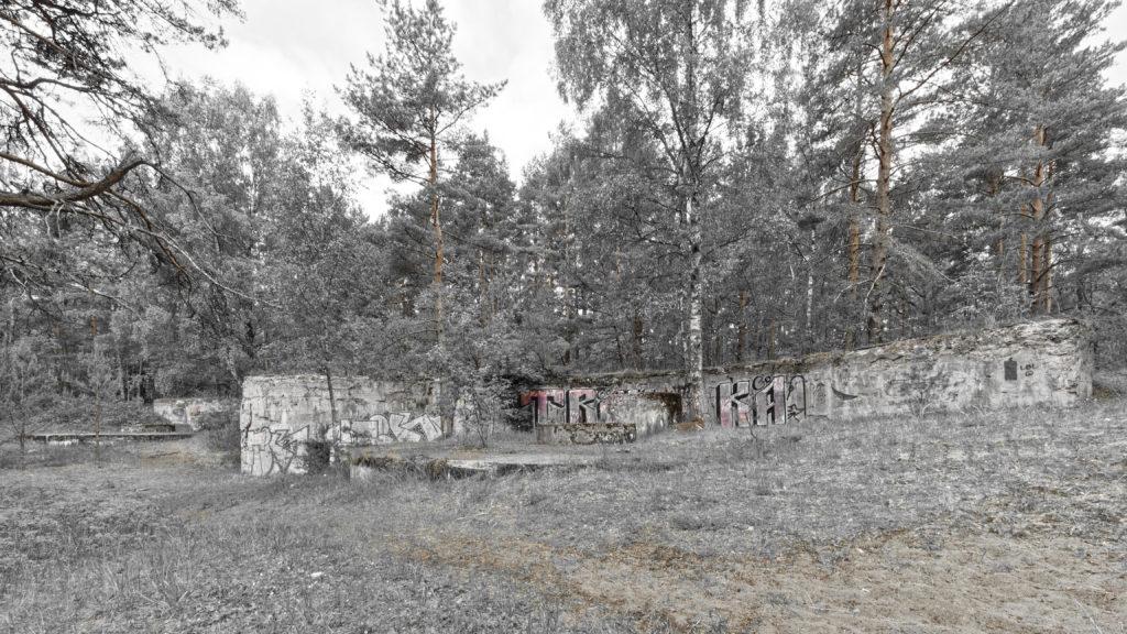 Bild: Die Artilleriefestungen im Stadtteil Mangaļsala von Rīga wurden nie militärisch genutzt, sind aber bis heute imposant.