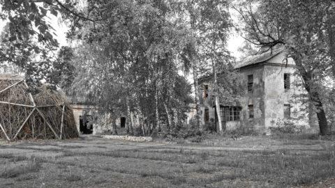 Bild: Bau aus der zeit der sowjetischen Okkupation Lettlands durch die Sowjetunion in der Festung Daugavgrīva oder Dünamünder Schanze in Rīga.