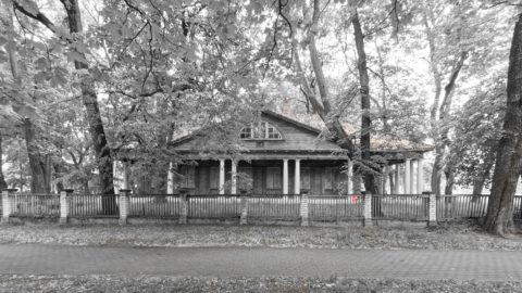 Bild: Das Landhaus der Familie Block in der Vienības gatve im Stadtteil Torņakalns in Rīga.