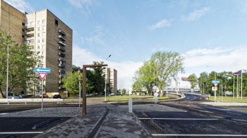 Bild: Ķengarags ist Wesentlichen durch 4, 9 oder 12-stöckige Plattenbauten geprägt.